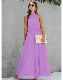 Šaty - kód 8855 - fialová