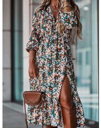 Šaty - kód 2745 - viacfarebné