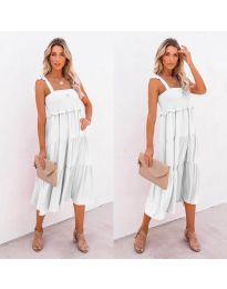 Šaty - kód 7791 - biela