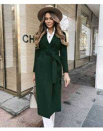 Kabát - kód 4941 - olivová  zelená