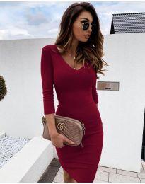Šaty - kód 4040 - bordeaux