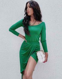 Šaty - kód 1652 - zelená