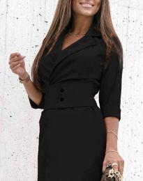 Šaty - kód 1356 - čierná