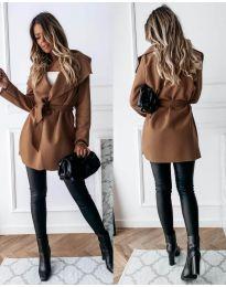 Kabát - kód 643 - hnedá