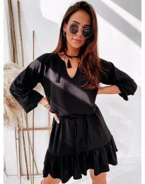Šaty - kód 4146 - čierná
