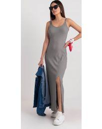 Šaty - kód 3000 - šedá