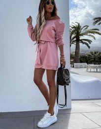 Šaty - kód 2409 - pudrová