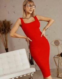 Šaty - kód 5965 - červená
