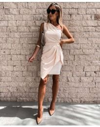 Šaty - kód 2457 - bežová
