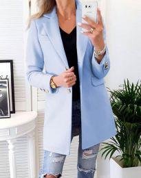 Kabát - kód 4679 - svetlo modrá