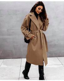 Kabát - kód 410 - hnedá