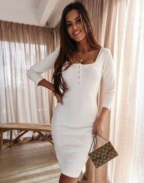 Šaty - kód 1700 - biela