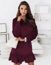 Šaty - kód 0424 - bordeaux