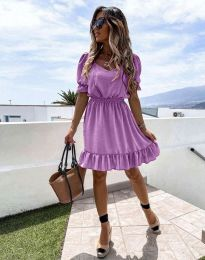 Šaty - kód 6460 - fialová
