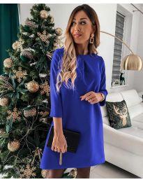 Šaty - kód 1042 - modrá