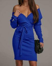 Šaty - kód 4765 - modrá