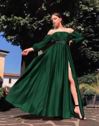 Šaty - kód 1879 - zelená