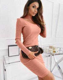 Šaty - kód 11441 - pudrová