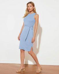 Šaty - kód 12950 - modrý