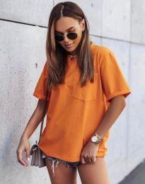 Tričko - kód 11953 - oranžová