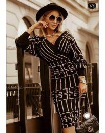 Šaty - kód 4441 - 2 - čierná
