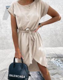 Šaty - kód 2074 - bežová