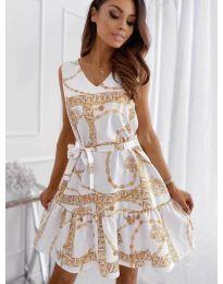 Šaty - kód 343 - biela