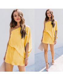 Šaty - kód 9933 - žltá