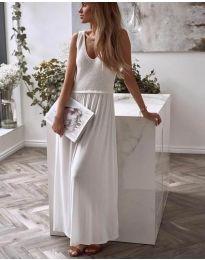 Šaty - kód 5261 - 2 - biela