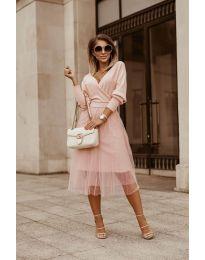 Šaty - kód 9994 - ružová