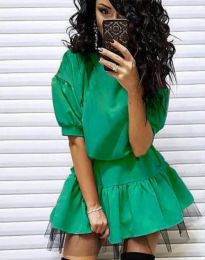 Šaty - kód 2856 - zelená