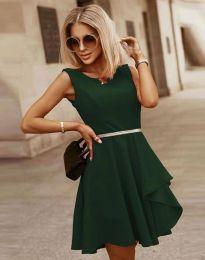 Šaty - kód 8917 - tmavozelená