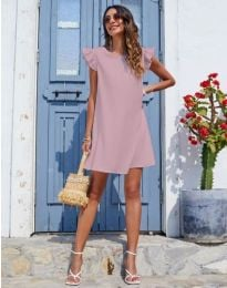 Šaty - kód 6261 - pudrová
