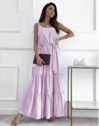 Šaty - kód 2578 - fialová
