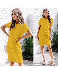 Šaty - kód 835 - žltá