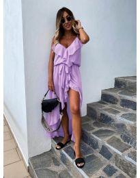 Šaty - kód 0081 - fialová