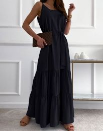 Šaty - kód 2578 - čierná