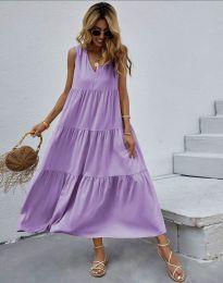 Šaty - kód 8149 - fialová