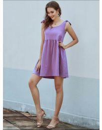 Šaty - kód 2255 - fialová