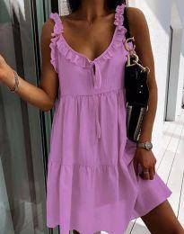 Šaty - kód 2540 - fialová