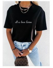 Tričko - kód 36755 - čierná