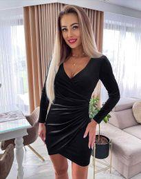 Šaty - kód 3872 - čierná