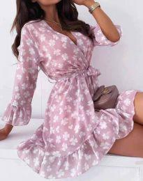Šaty - kód 2865 - květinové