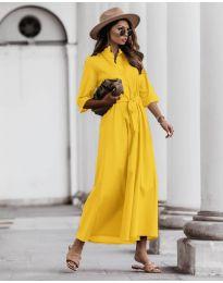 Šaty - kód 0900 - žltá