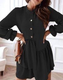 Šaty - kód 2829 - čierná