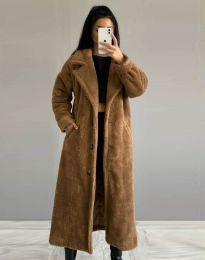Kabát - kód 0465 - 4 - hnedá