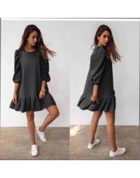 Šaty - kód 784 - čierná
