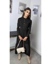 Šaty - kód 185 - čierná