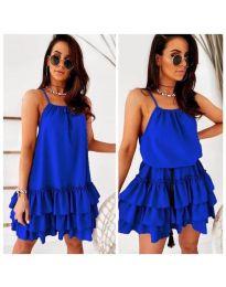 Šaty - kód 451 - modrý