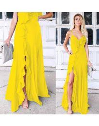 Šaty - kód 4488 - žltá